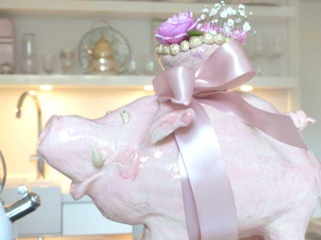 Blumenschwein